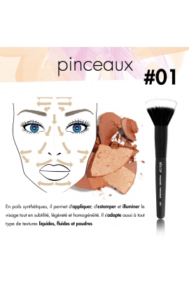 POWDER Brush N°01