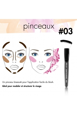 Pinceau N°3 - Contouring