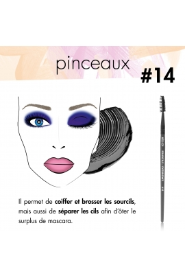 LASH & BROW Brush N°14
