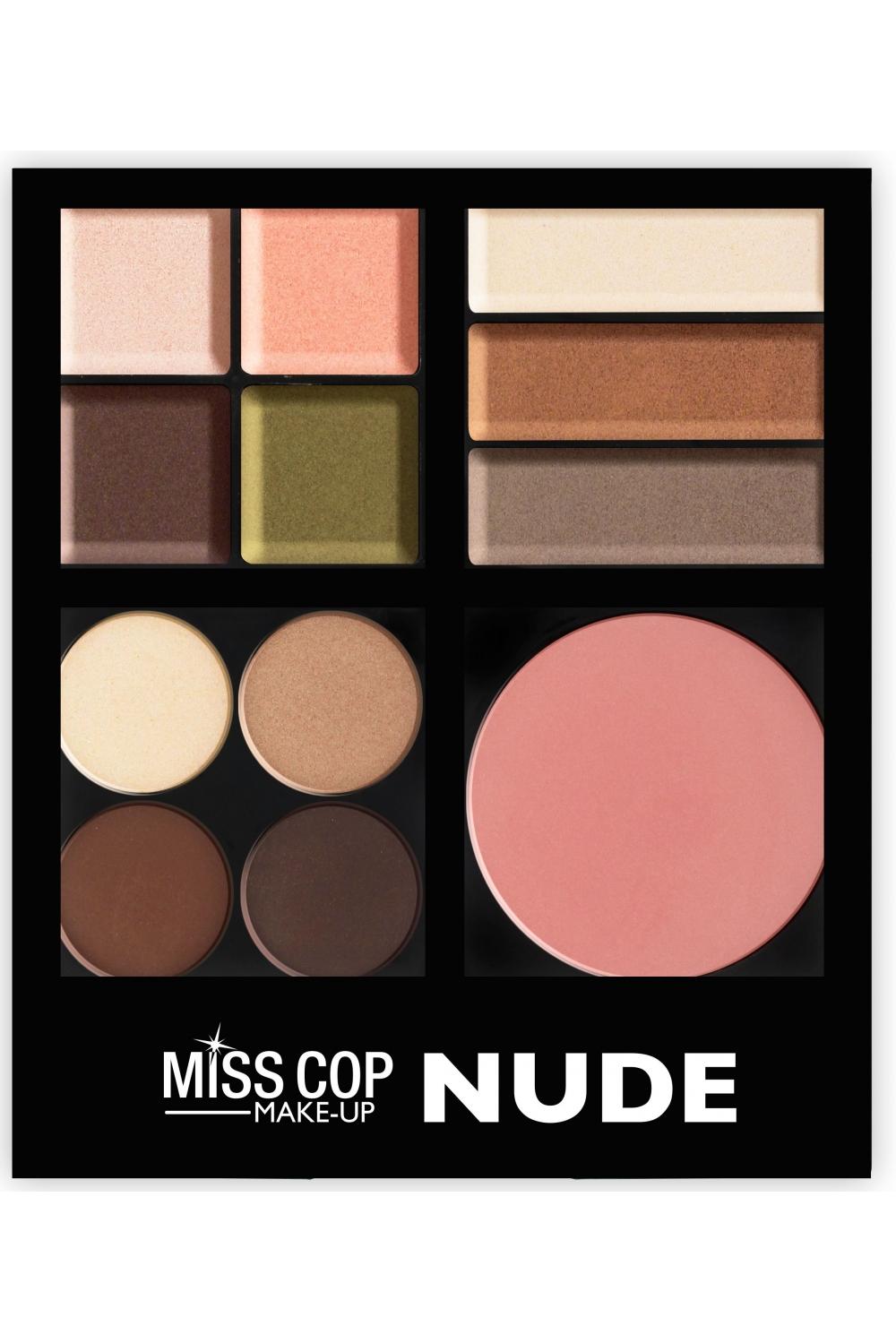 palette de maquillage nude misscop