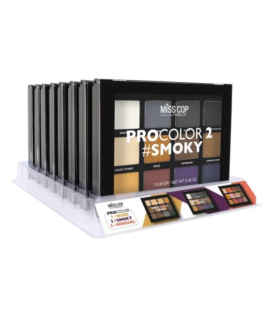 Palette de maquillage smoky