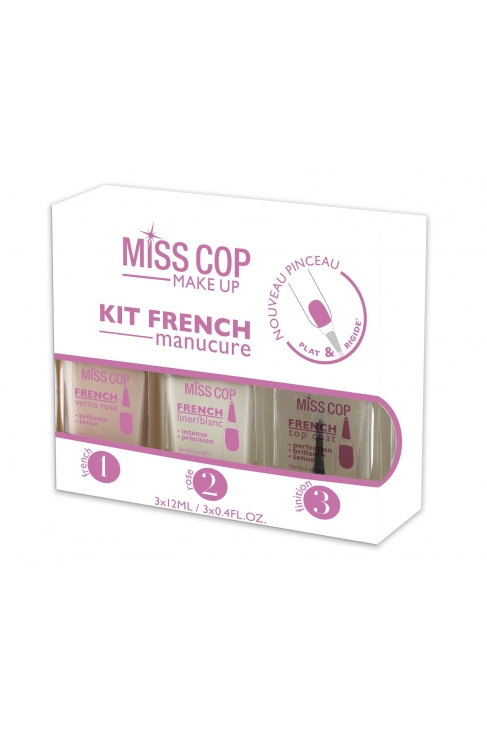 Kit Vernis FRENCH MANUCURE