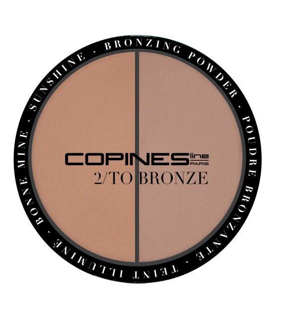 2/TO BRONZE Bronzer powder Duo