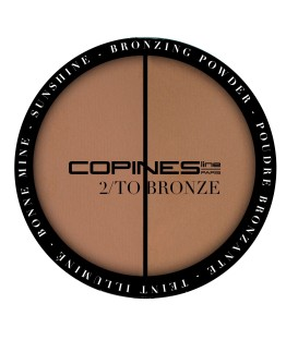 2/TO BRONZE Bronzer powder Duo