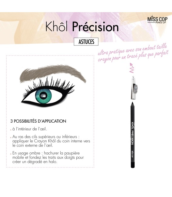 Crayon KHÔL Precision Taille crayon