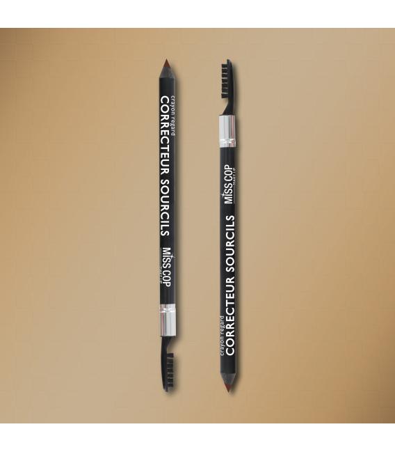 Eyebrow corrector pencil + brush