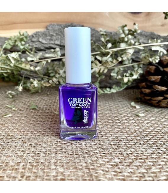 Top Coat Green Nail care