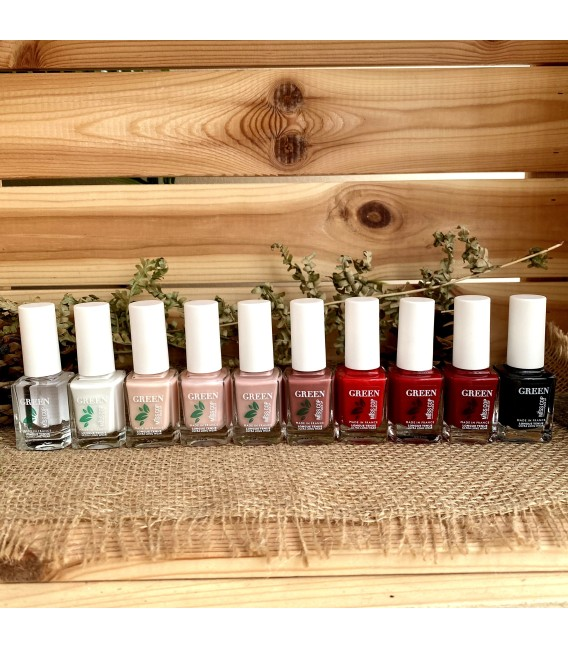 Nail polish Green organic sourced 04 Rose nacré