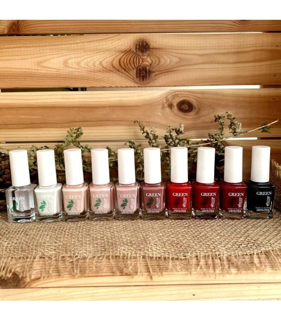 Nail polish Green organic sourced 08 Red