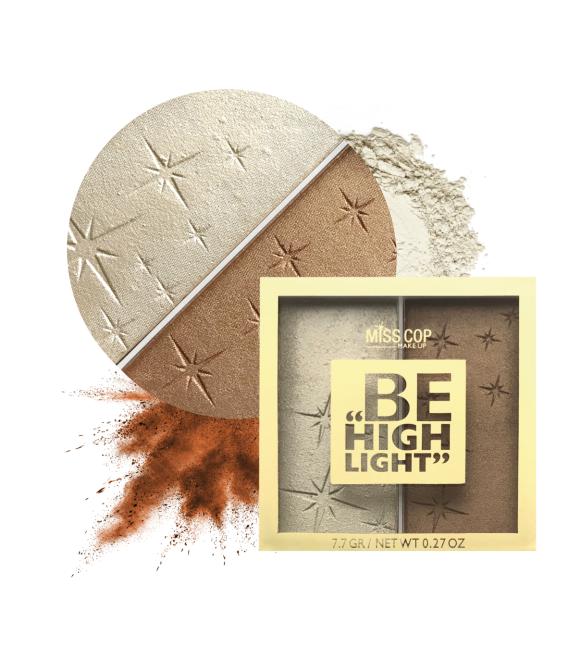Palette illuminateur DUO - Be Highlight