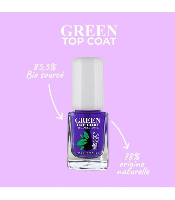 Soins Top Coat Green Bio sourcé