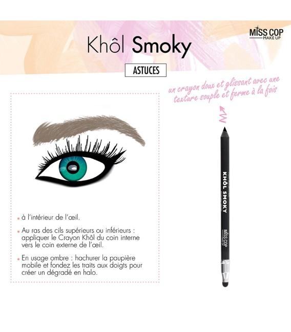 SMOKY black kohl pencil