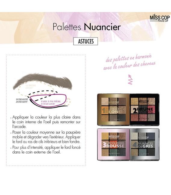 PALETTES NUANCIER 03 ROUSSE