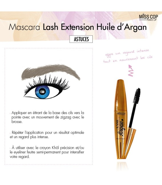 Mascara Lash Extension - ARGAN OIL