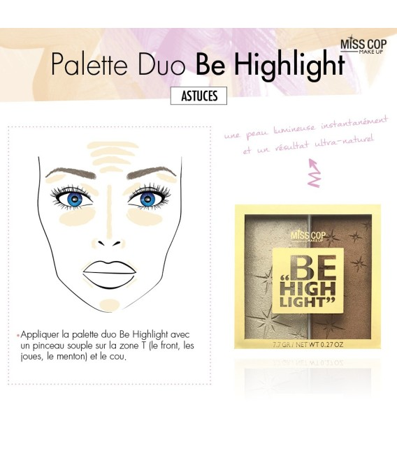 Be Highlight - DUO Palette