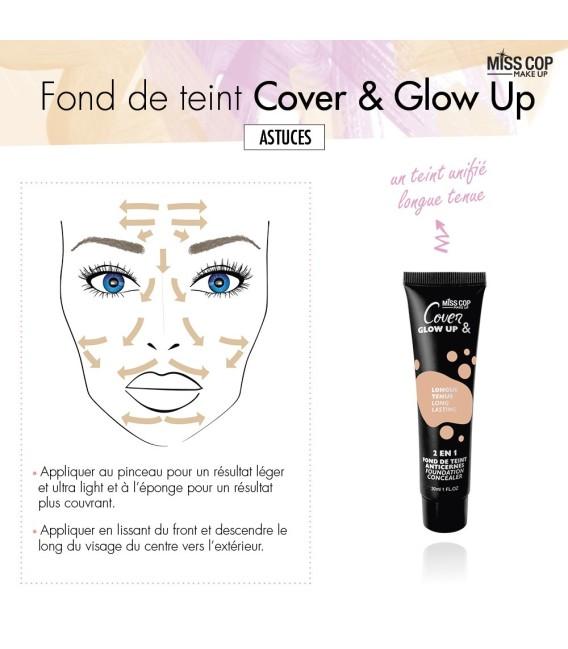 Fond de teint 2 en 1 - Cover and Glow up