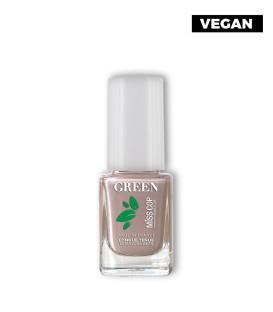 Nail polish Green organic sourced 03 nude irisé
