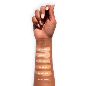 Le fond de teint Hyaluro est disponible en 10 teintes de très clair à mat#beauté #maquillage #makeup #makeupaddict #cosmetique #misscop #fonddeteint #teint #acidehyaluronique